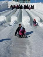 Ice slides