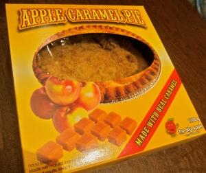 De-lish apple pie!