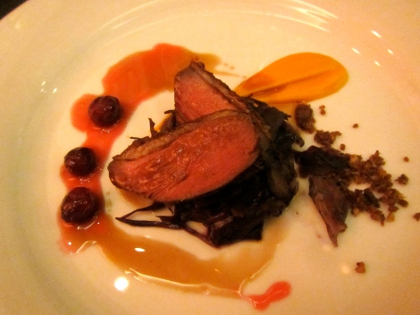 Seared Quebec Duck Breast