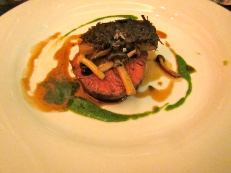 Beef Tenderloin and Cheek
