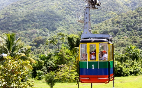 Puerto Plata aerial cable car