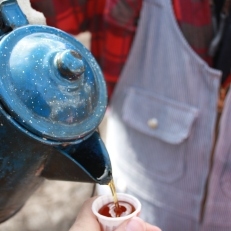 Maple syrup sampling