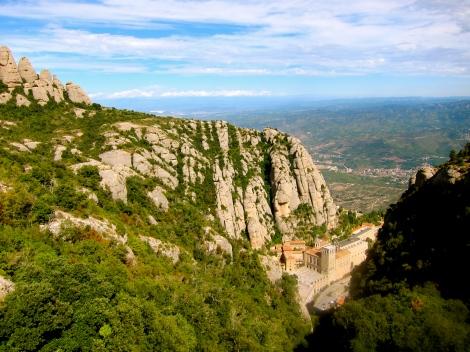 Benedictine monastery of Santa Maria de Montserrat (Spain)