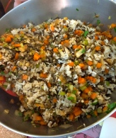 Trois Rice with French Green Lentils