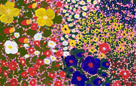 Flowers, 2000 by aboriginal artist