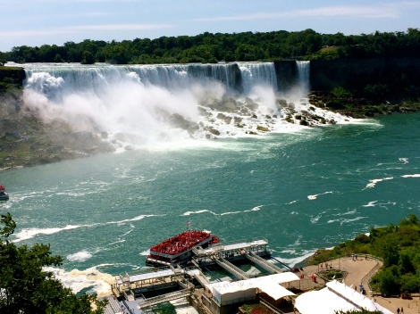 American and Bridal Veil Falls, Niagara Falls